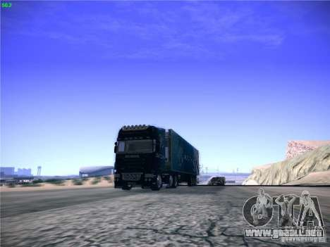 Scania R620 Dubai Trans para GTA San Andreas vista posterior izquierda