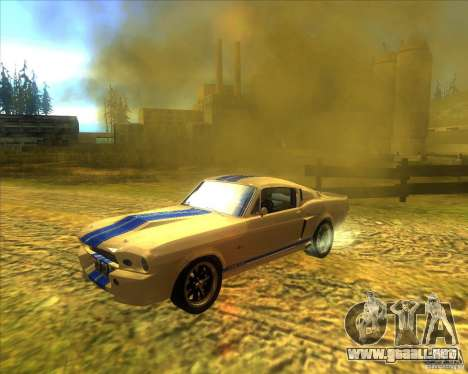 Shelby GT500 Eleanora clone para GTA San Andreas