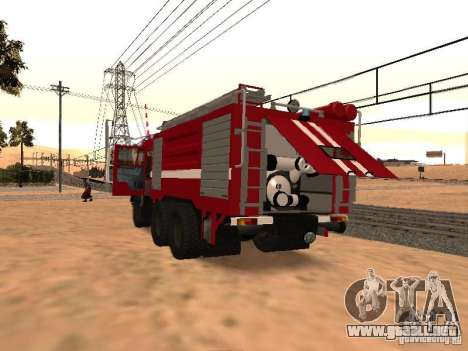 KAMAZ 53229 bombero para la visión correcta GTA San Andreas