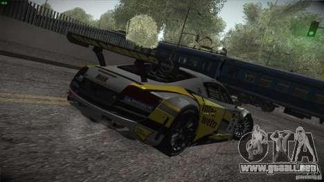 Audi R8 LMS para el motor de GTA San Andreas