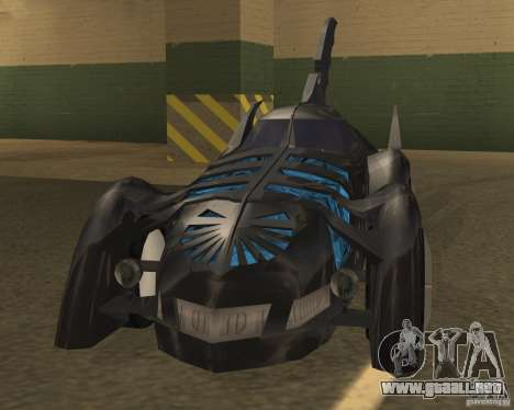 Batmobile 1995 para GTA San Andreas left