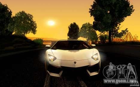 ENB Series - BM Edition v3.0 para GTA San Andreas sucesivamente de pantalla