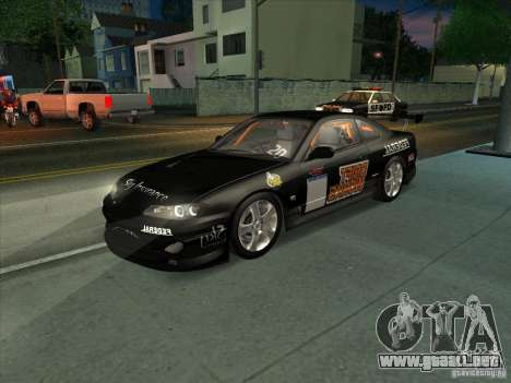Nissan Silvia S15 Tunable KIT C1 - TOP SECRET para vista inferior GTA San Andreas