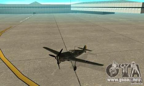 Bf-109 para GTA San Andreas left