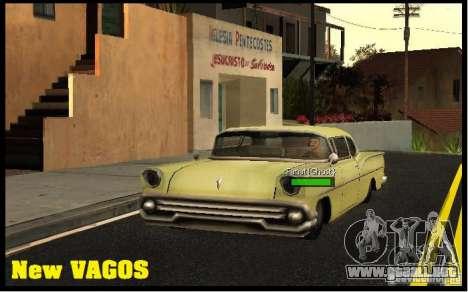 New Vagos [lsv2] para GTA San Andreas tercera pantalla