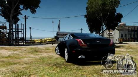 Jaguar XJ 2012 para GTA 4 visión correcta