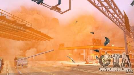 Explosion & Fire Tweak 1.0 para GTA 4 segundos de pantalla