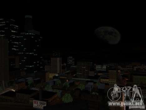 Realistic Night Mod para GTA San Andreas segunda pantalla