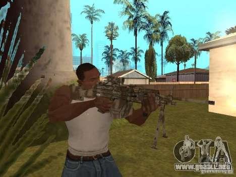 Ametralladora MK-48 para GTA San Andreas tercera pantalla