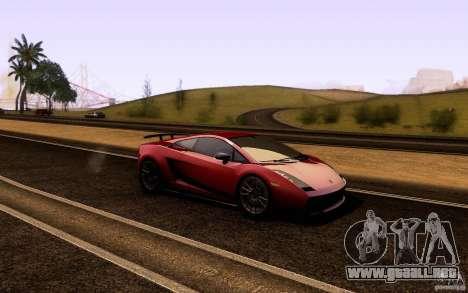 ENB Series - BM Edition v3.0 para GTA San Andreas segunda pantalla