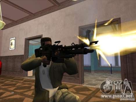 M60E4 para GTA San Andreas tercera pantalla