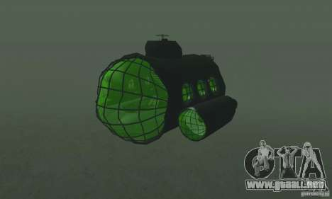 Submarino para GTA San Andreas left