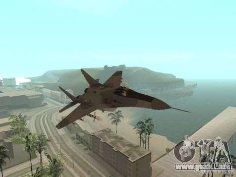 MIG-29 de la COD MW2 para GTA San Andreas