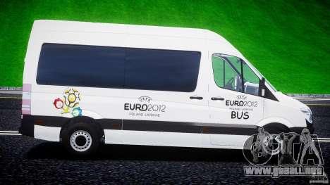 Mercedes-Benz Sprinter Euro 2012 para GTA 4 left