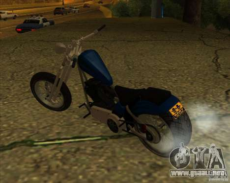 Hexer bike para la visión correcta GTA San Andreas