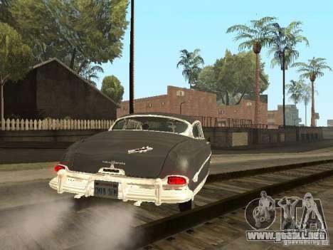 Hudson Hornet 1952 para GTA San Andreas vista posterior izquierda