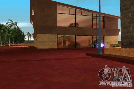 Motorshow para GTA Vice City quinta pantalla