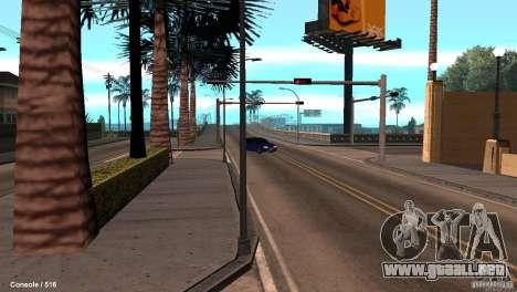 BAZ 21099 para GTA San Andreas vista hacia atrás