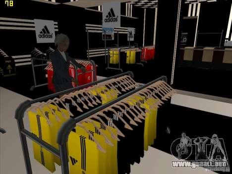 Reemplazo total de la tienda Binco Adidas para GTA San Andreas sexta pantalla