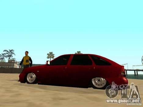 Suspensión de aire para GTA San Andreas quinta pantalla