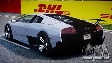 Lamborghini Murcielago LP670-4 SuperVeloce para GTA 4 visión correcta