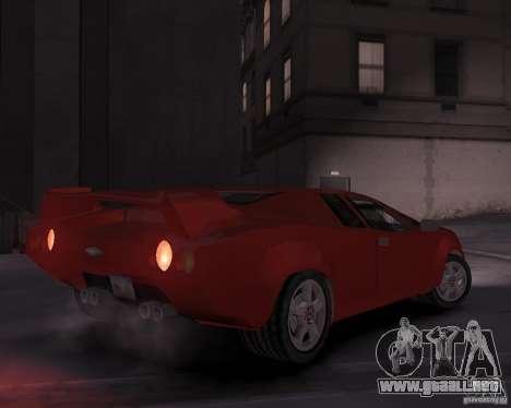 Infernus - Vice City para GTA 4 visión correcta