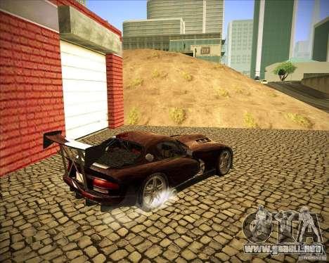Dodge Viper TT para la visión correcta GTA San Andreas