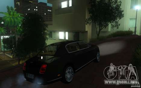 Bentley Continental Flying Spur para la visión correcta GTA San Andreas