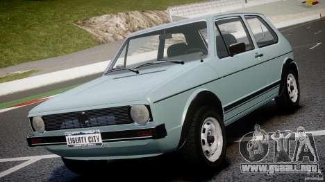 Volkswagen Golf Mk1 para GTA 4