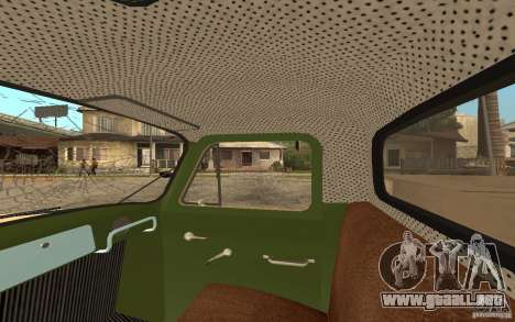 Gaz-52 para las ruedas de GTA San Andreas