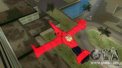 Swordfish Mono Racer para GTA Vice City left