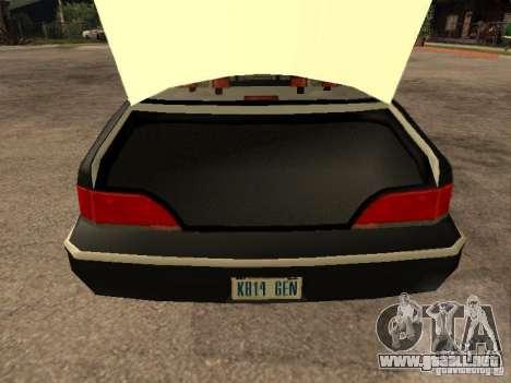 Ford Crown Victoria 1994 Police para vista lateral GTA San Andreas