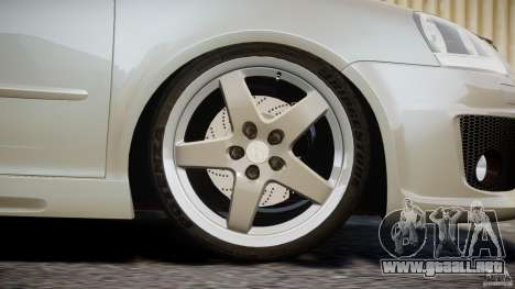 Volkswagen Golf GTI 2006 v1.0 para GTA 4 vista superior