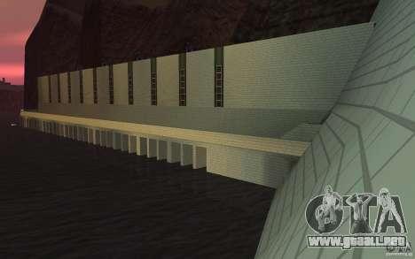 La nueva presa para GTA San Andreas sucesivamente de pantalla