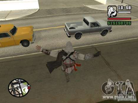 La capacidad de los Assassins Creed para GTA San Andreas