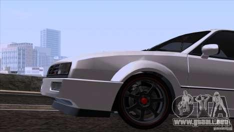 Volkswagen Corrado VR6 para visión interna GTA San Andreas