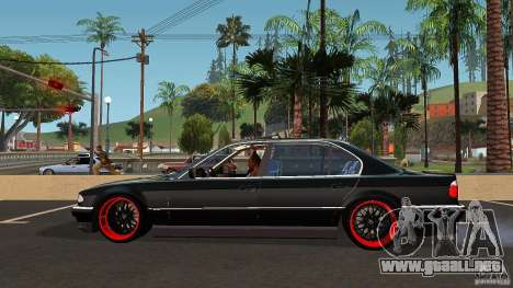 BMW E38 750LI para GTA San Andreas left