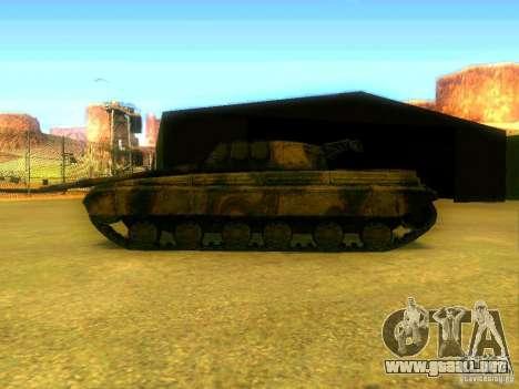 Tanque juego S. T. A. L. k. e. R para la visión correcta GTA San Andreas