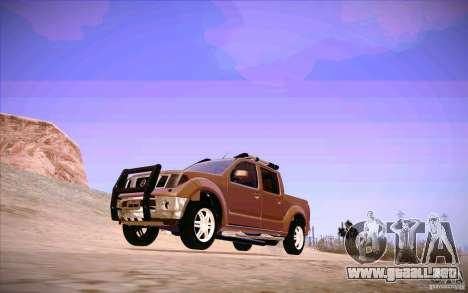 Nissan Fronter para GTA San Andreas