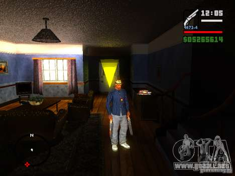 ENBSeries v2 para GTA San Andreas segunda pantalla
