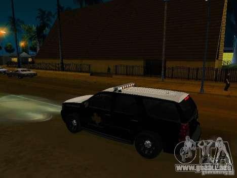 Chevrolet Tahoe Texas Highway Patrol para la visión correcta GTA San Andreas
