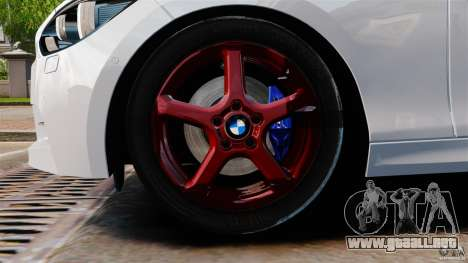 BMW 135i M-Power 2013 para GTA 4 vista lateral