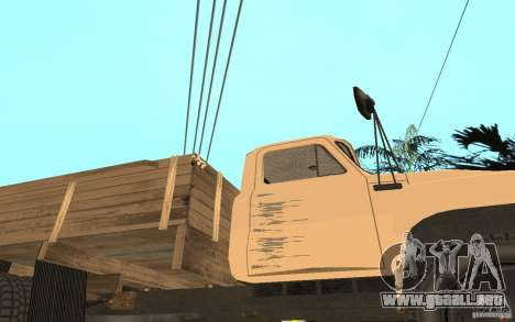 Gaz-52 para vista inferior GTA San Andreas