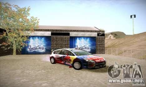 Citroen C4 WRC para GTA San Andreas