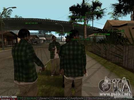 Dope para GTA San Andreas sexta pantalla
