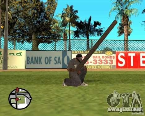 Madera rusa para GTA San Andreas