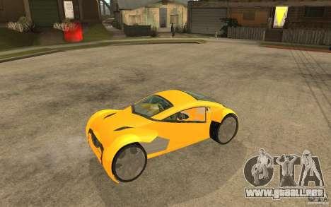 Lexus Concept 2045 para la visión correcta GTA San Andreas