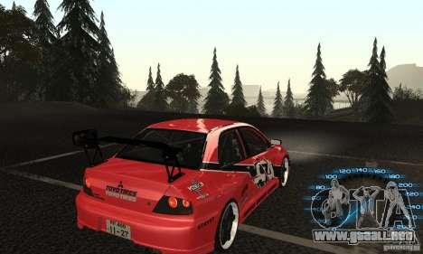 Mitsubishi Lancer IX APR para GTA San Andreas left