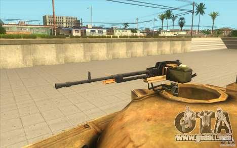 Tanque t-72 para la visión correcta GTA San Andreas