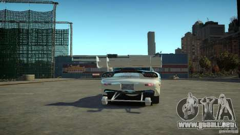 Mazda rx7 Dragster para GTA 4 Vista posterior izquierda